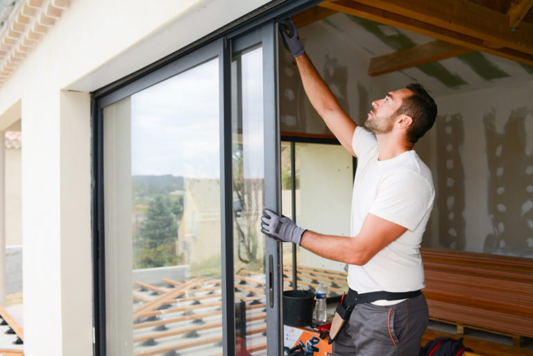 Home renovation replacing window